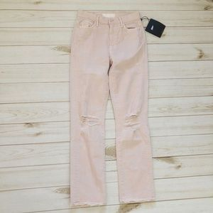 Mother Denim High Waisted Rascal Ankle Jean